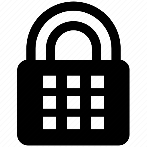 Lock, padlock, password, protected, safe, security icon - Download on Iconfinder