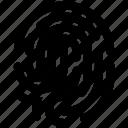 biometric, dactylgram, data, fingerprint, identification, touch id