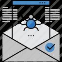 antivirus, virus, infected, letter, mail, detecting, email