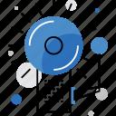 alarm, alert, bell, intruder, school, system, urgency icon
