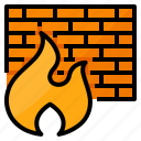 firewall, network, protection, security icon