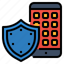 antivirus, mobile, protect, security icon
