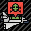 data, payloads, transmission, virus icon