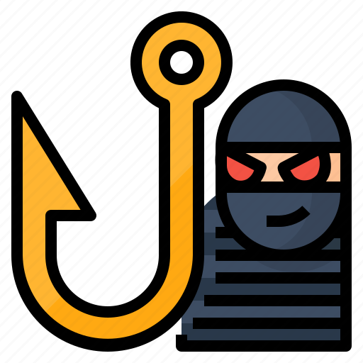 attack, password, phishing, virus icon