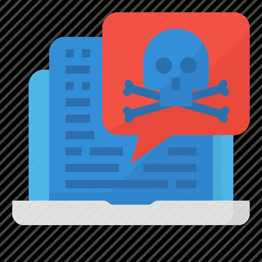 malware, spy, virus icon