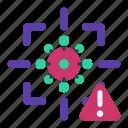detect, founded, security, alert, virus, warning, risk