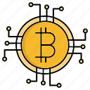 coin, crypto, currency, cyber security, encryption, network protection icon