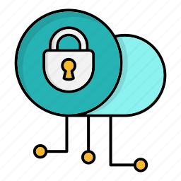 cyber security, data, lock, network protection, private, security, smart icon