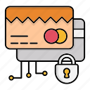 card, cyber security, encryption, payment, safe, smart, technology icon