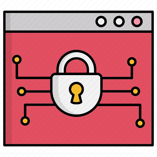 cyber security, network protection, online, safe, shopping, smart, technology icon