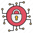 cyber, cyber security, encryption, network protection, security, smart, technology icon