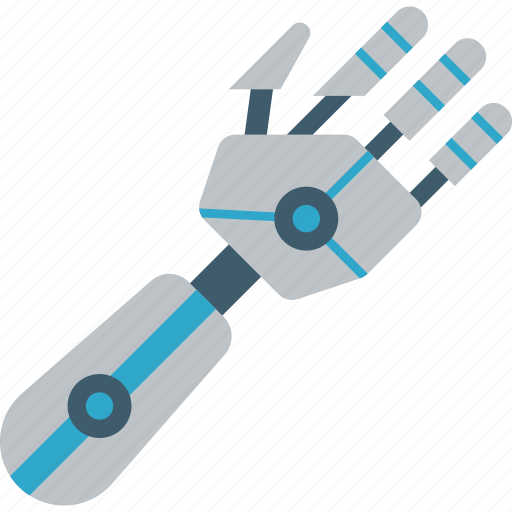 Arm, cybernetic, cybernetics icon - Download on Iconfinder