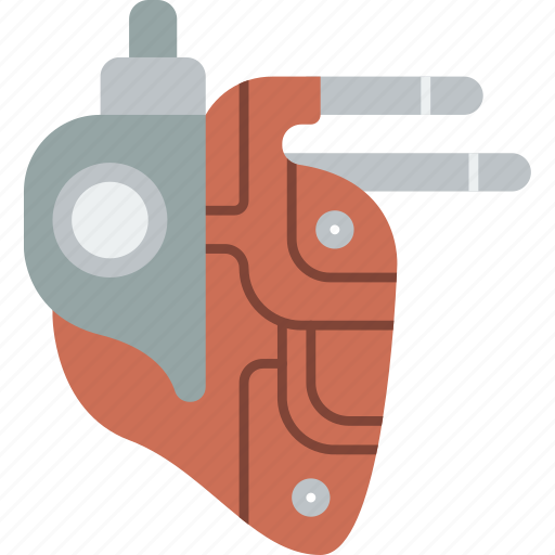 Cybernetic, cybernetics, heart icon - Download on Iconfinder