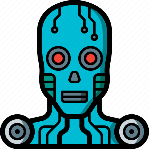 Android, cybernetics icon - Download on Iconfinder