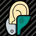 cybernetics, hearing, implant