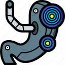 cybernetics, stomach icon