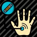 cybernetics, impant, rfid icon