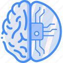 brain, cortex, cybernetics, implant, partial