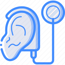 cochlear, cybernetics, ear, implant icon