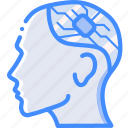 brain, cybernetics, implant