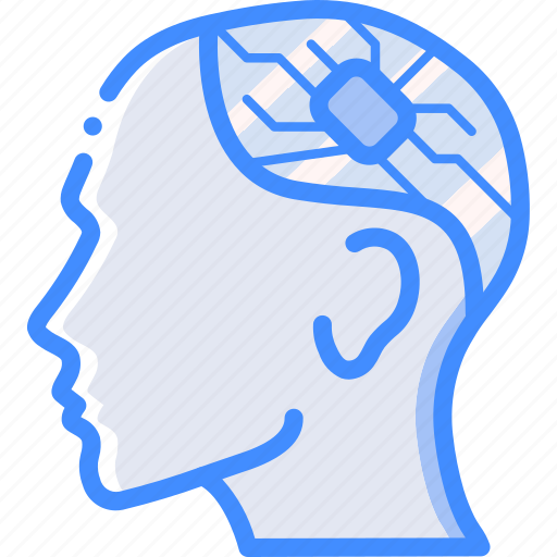 Brain, cybernetics, implant icon - Download on Iconfinder