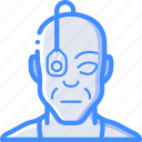 cybernetics, eyeborg icon