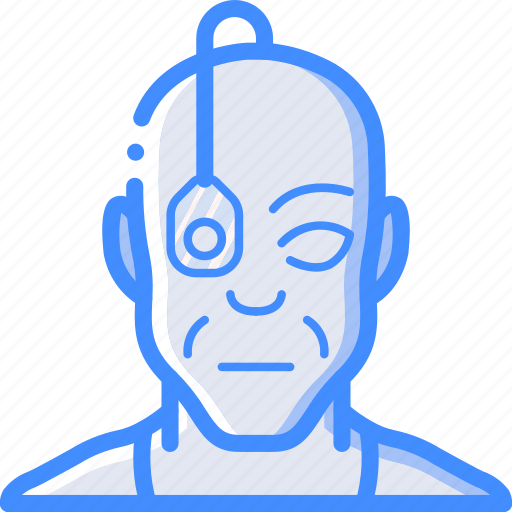 cybernetics, eyeborg icon
