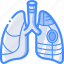 cybernetic, cybernetics, lung, partial icon