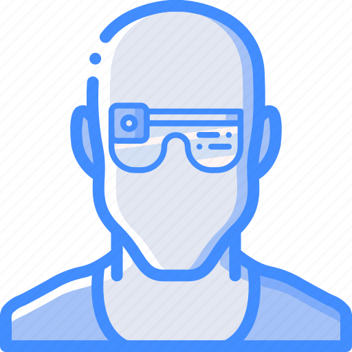 Cybernetic, cybernetics, glasses icon - Download on Iconfinder