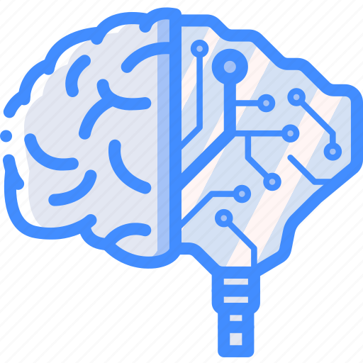 brain, cybernetic, cybernetics icon