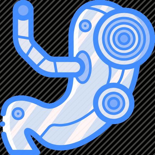 cybernetics, stomach icon