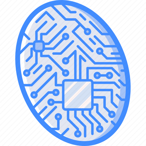 Cybernetic, cybernetics, fingerprint icon - Download on Iconfinder
