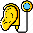 cochlear, cybernetics, ear, implant icon