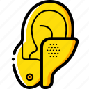 cybernetics, hearing, implant icon