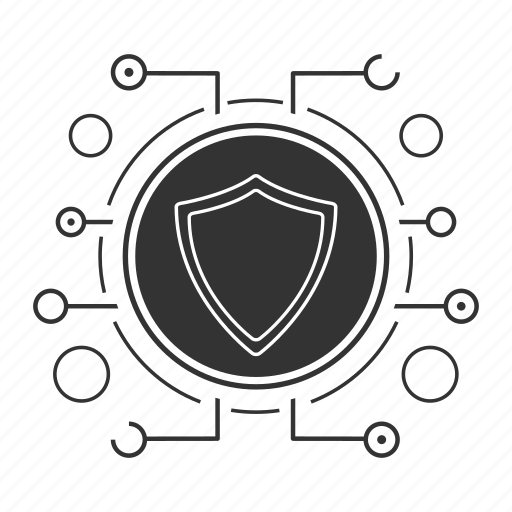 antivirus, cyber security, defence, defense, protection, security, shield icon