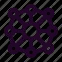 blockchain, crypto, cryptocurrency, decentralized, distribution icon