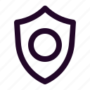 blockchain, crypto, cryptocurrency, finance, protect, secure, shield icon