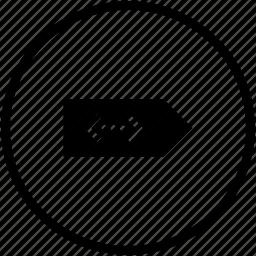 bookmark, code, error, notice, source icon