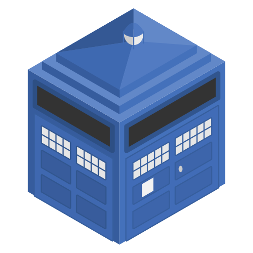 blue, box, cabin, doctorwho, police, tardis icon