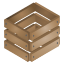 brown, crate, wooden icon