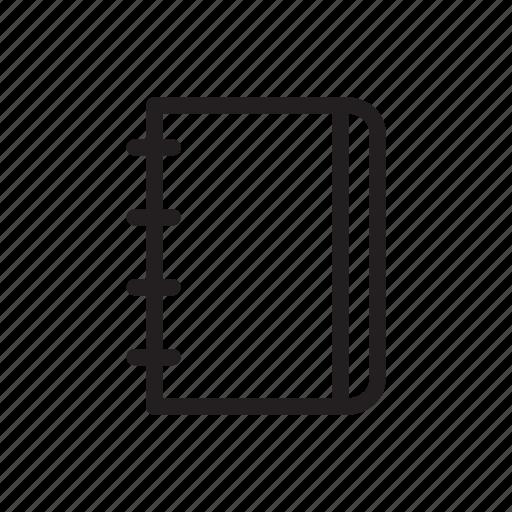 Agenda, binder, book, note, outline, school, tool icon - Download on Iconfinder