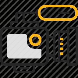 camera, cinema, film, media, movie, video, videocamera icon