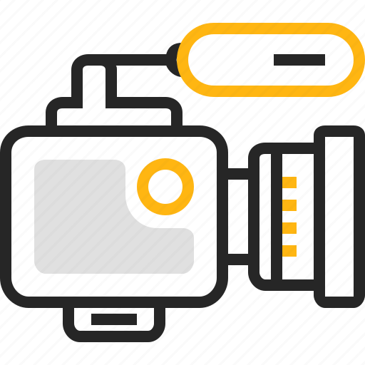 camera, cinema, film, media, movie, video, videocamera icon