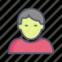 avatar, boy, man, profile, profile picture, user icon