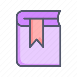 book, education, library, novel, reading, study icon