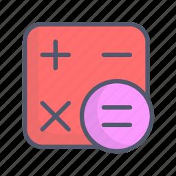 calculation, calculator, counting icon