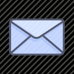 enclose, envelope, inbox, letter, message icon