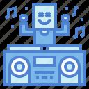 dj, festival, music, stage icon