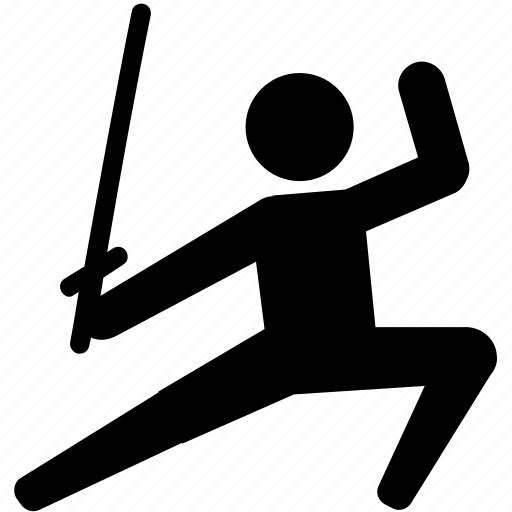 duel, fencing, kendo, martial art, sparring, sword icon