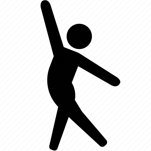dance, dancer, health, jazz, spin, stretch, twirl icon